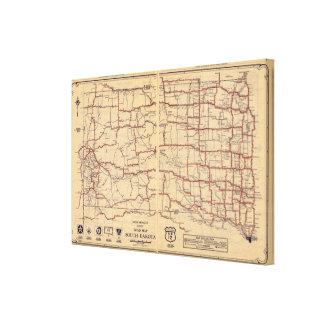 South Dakota Canvas Print