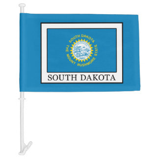 South Dakota Car Flag