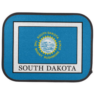 South Dakota Car Floor Mat