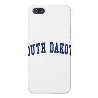 South Dakota College Case For iPhone 5/5S