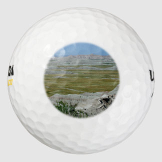 South Dakota Country Landscape Pack Of Golf Balls