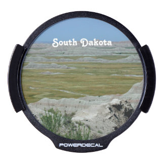 South Dakota Country Landscape LED Car Window Decal