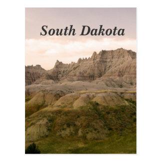South Dakota Countryside Postcard