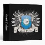 South Dakota Crest Vinyl Binders