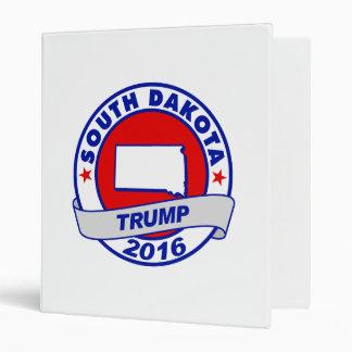 south dakota Donald Trump 2016.png 3 Ring Binders