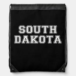 South Dakota Drawstring Backpack