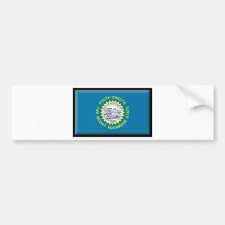 South Dakota Flag Bumper Stickers