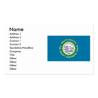 South Dakota Flag Double-Sided Standard Business Cards (Pack Of 100)