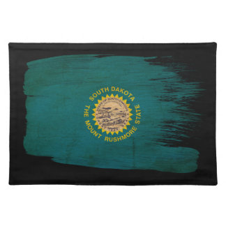 South Dakota Flag Cloth Placemat
