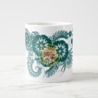 South Dakota Flag Giant Coffee Mug