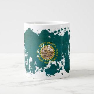 South Dakota Flag Large Coffee Mug