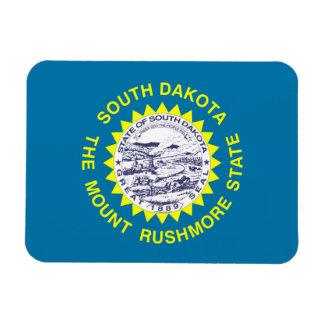South Dakota Flag Magnet