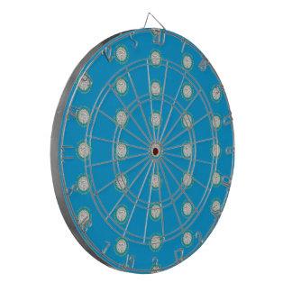 SOUTH DAKOTA Flag Pattern Dart Boards