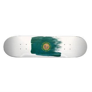South Dakota Flag Custom Skateboard
