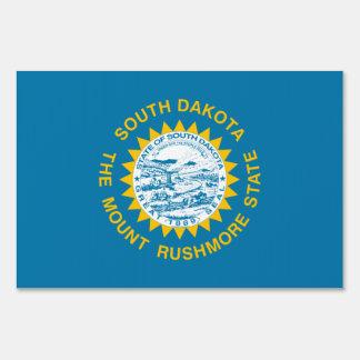 South Dakota Flag Yard Sign