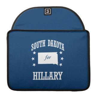 SOUTH DAKOTA FOR HILLARY SLEEVE FOR MacBooks