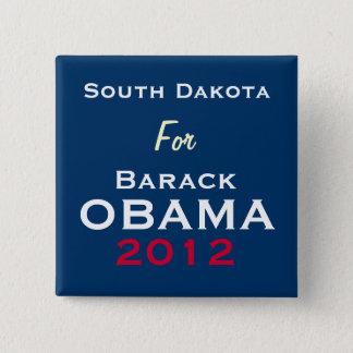 SOUTH DAKOTA For OBAMA 2012 Campaign Button