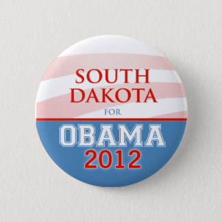SOUTH DAKOTA for Obama 2012 Pinback Button