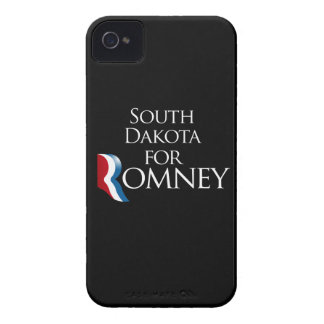 South Dakota for Romney -.png Case-Mate iPhone 4 Cases
