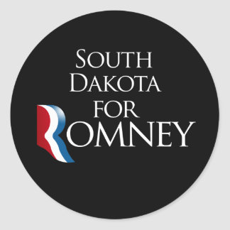 South Dakota for Romney -.png Sticker