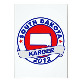 South Dakota Fred Karger Card