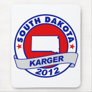 South Dakota Fred Karger Mouse Pad
