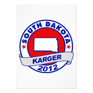 South Dakota Fred Karger Personalized Invite