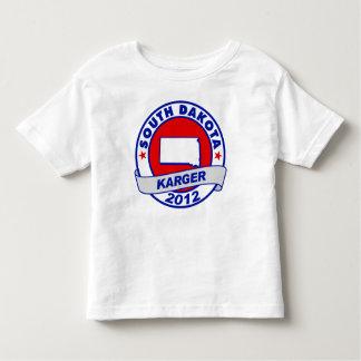 South Dakota Fred Karger Toddler T-shirt