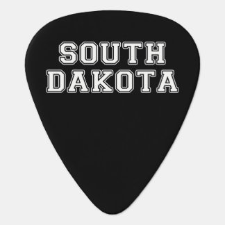 South Dakota Guitar Pick