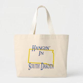 South Dakota - Hangin' Large Tote Bag