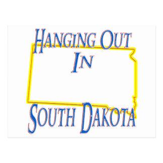 South Dakota - Hanging Out Postcard