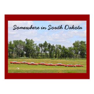 South Dakota Highway 212 Postcard