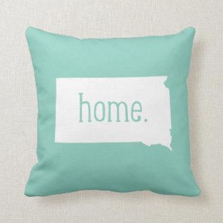 South Dakota Home State Throw Pillow