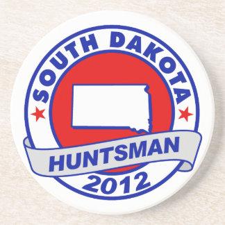 South Dakota Jon Huntsman Drink Coasters
