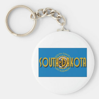 South Dakota Keychain
