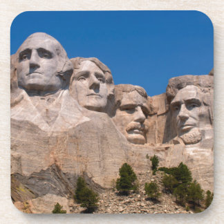 South Dakota, Keystone, Mount Rushmore Drink Coaster