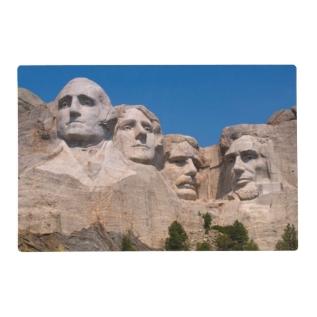 South Dakota, Keystone, Mount Rushmore Placemat at Zazzle