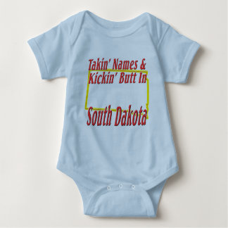 South Dakota - Kickin' Butt Baby Bodysuit