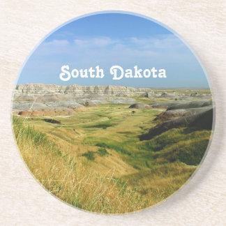 South Dakota Landscape Sandstone Coaster