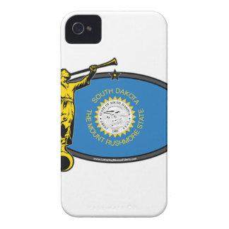 South Dakota LDS Mission no Label Angel Moroni iPhone 4 Cases