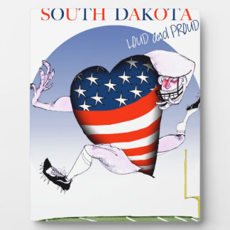 south dakota loud and proud, tony fernandes plaque