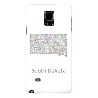 South Dakota map Galaxy Note 4 Case