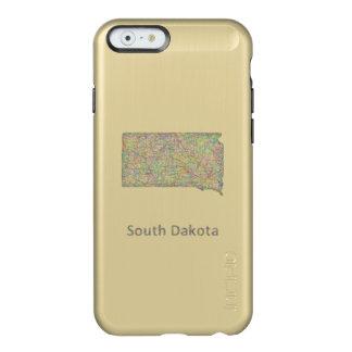 South Dakota map Incipio Feather® Shine iPhone 6 Case