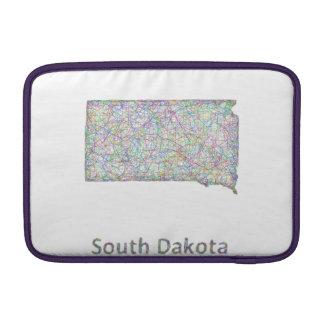 South Dakota map MacBook Air Sleeve