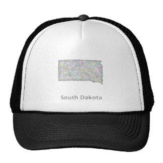 South Dakota map Trucker Hat