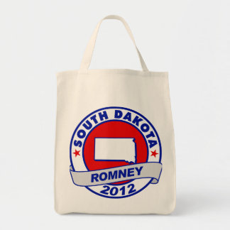 South Dakota Mitt Romney Canvas Bag