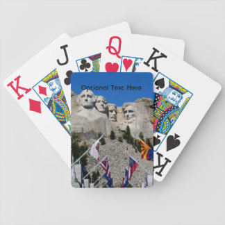 South Dakota Mount Rushmore Bicycle Playing Cards