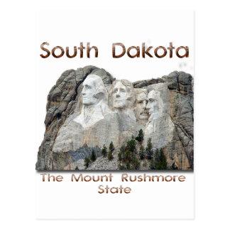 South Dakota Mount Rushmore Postcard