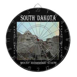 South Dakota Mount Rushmore State Dartboard
