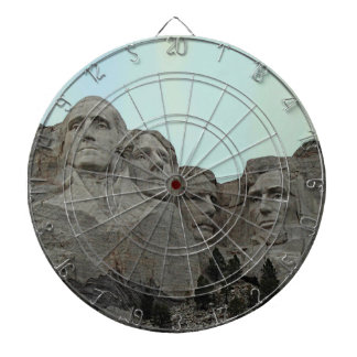 South Dakota Mount Rushmore State Dart Board